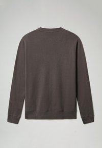 Napapijri - BIROL CREW - Sweatshirt - dark grey solid - 4