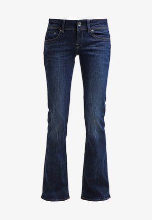 MIDGE MID BOOTCUT - Vaqueros bootcut - neutro stretch denim