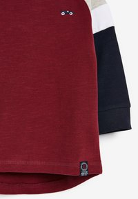 Next - COSY COLOURBLOCK - Long sleeved top - red - 2