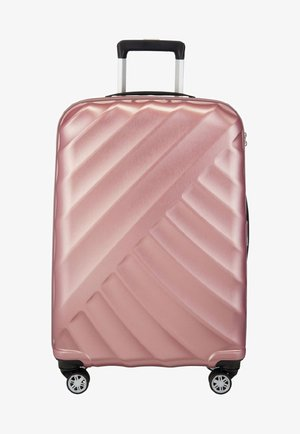 SHOOTING STAR  - Wheeled suitcase - rose
