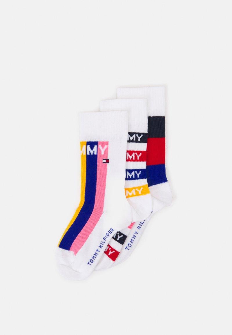 Tommy Hilfiger - KIDS SOCK GIFTBOX 3 PACK UNISEX - Socks - multicoloured