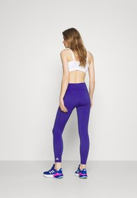 adidas Performance - BELIEVE THIS 2.0 AEROREADY SPORTS COMPRESSION LEGGINGS - Tights - royal blue - 2