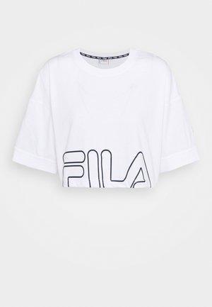 LAMIA - Printtipaita - bright white