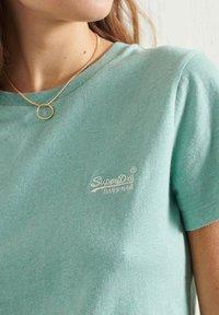 Superdry - CLASSIC  - Print T-shirt - sage marl - 1
