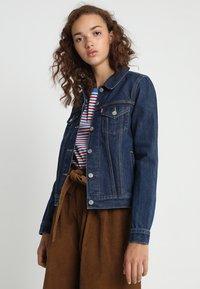 Levi's® - ORIGINAL TRUCKER - Giacca di jeans - clean dark authentic - 0