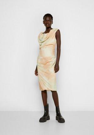 GINNIE PENCIL DRESS - Jersey dress - beige