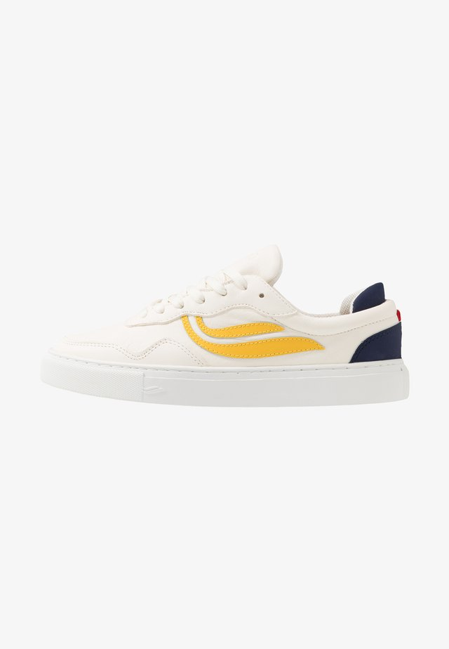 SOLEY UNISEX  - Sneakers basse - white/yellow/navy