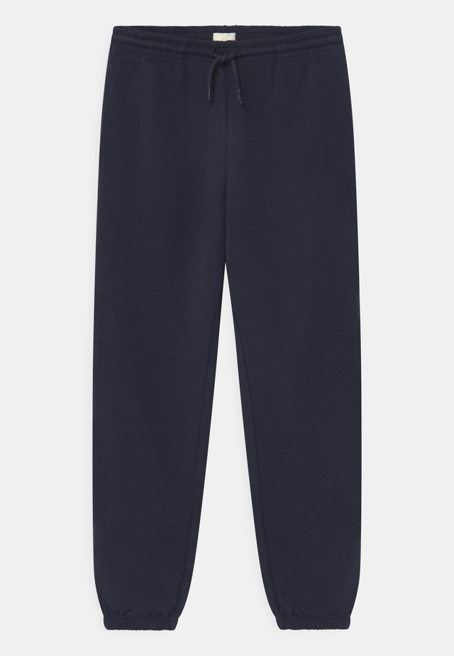 UNISEX - Tracksuit bottoms - navy