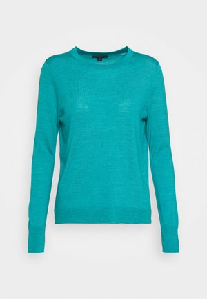 MARGOT CREWNECK - Jumper - turquoise