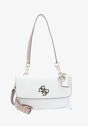 Handbag - white multi