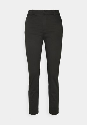 TROUSERS IRIS - Tygbyxor - black