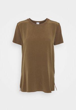 POSATO - Blouse - gold grun braun
