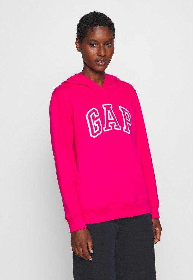 Bluza z kapturem - lipstick pink