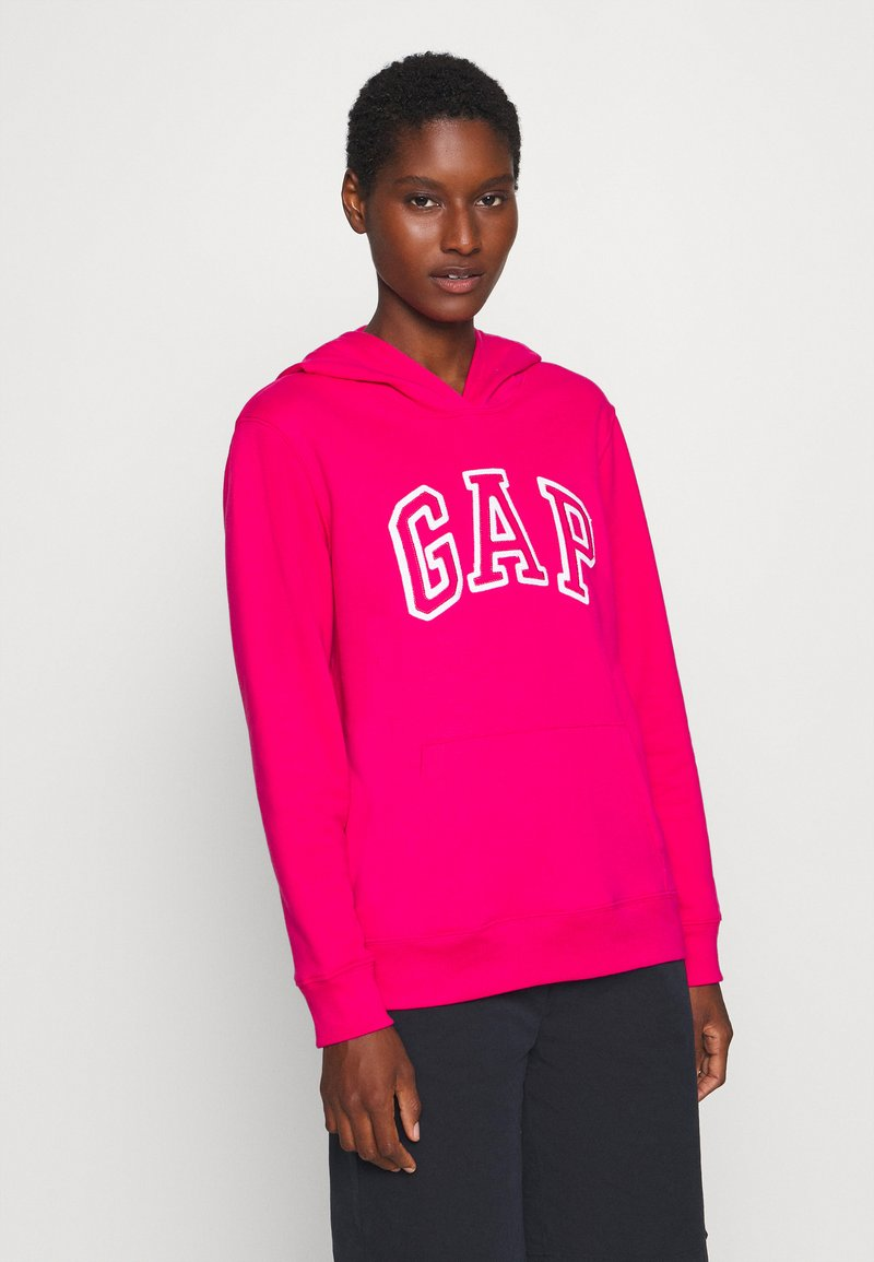 GAP - Bluza z kapturem - lipstick pink