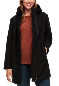 Triangle - MIT REISSVERSCHLUSS-DETAIL - Classic coat - black - 6