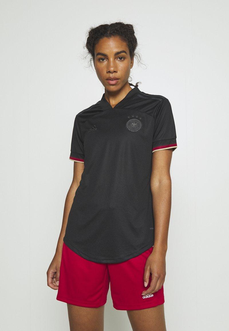 adidas Performance - DFB DEUTSCHLAND A JSY W - Club wear - black