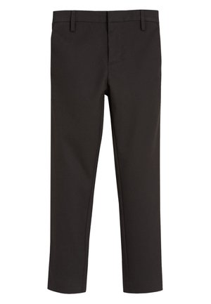 BLACK FORMAL STRETCH SKINNY TROUSERS (3-16YRS) - Kalhoty - mottled black