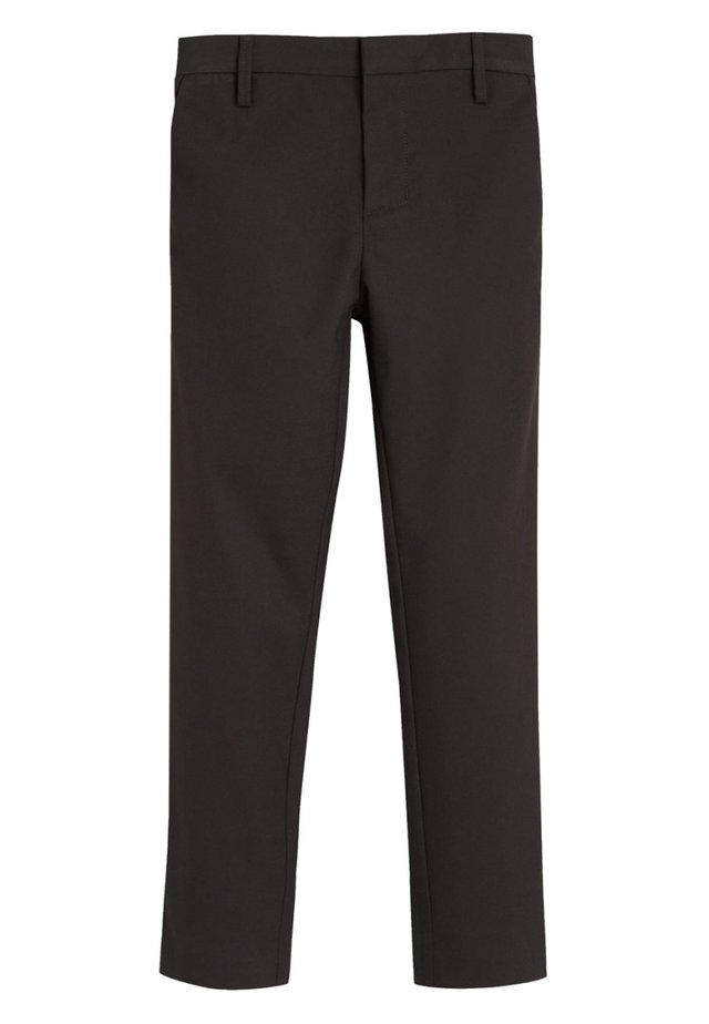 BLACK FORMAL STRETCH SKINNY TROUSERS (3-16YRS) - Broek - mottled black