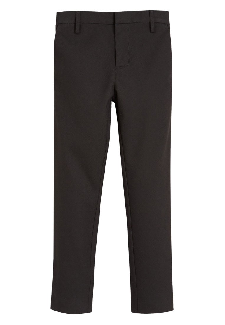 Next - BLACK FORMAL STRETCH SKINNY TROUSERS (3-16YRS) - Kalhoty - mottled black