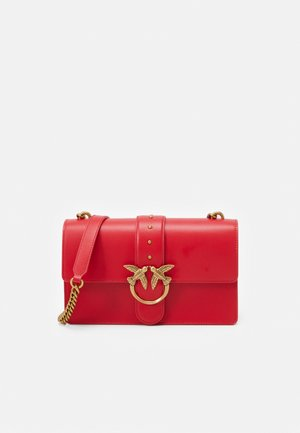LOVE CLASSIC ICON SIMPLY SETA ANTIQU - Across body bag - red