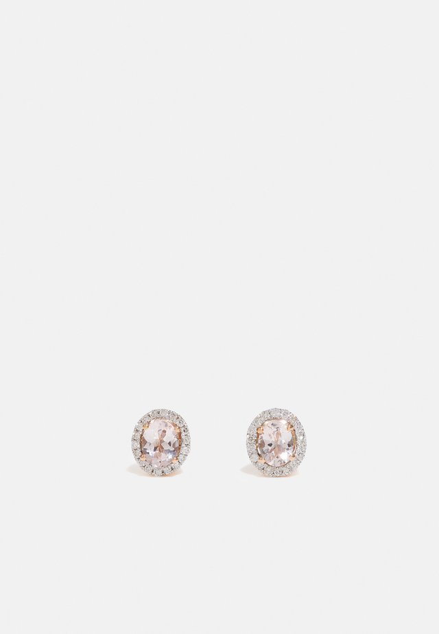 NATURAL DIAMOND EARRINGS CARAT MORZANITE DIAMOND EARRINGS KT DIAMOND JEWELLERY GIFTS FOR WOMENS - Korvakorut - rose