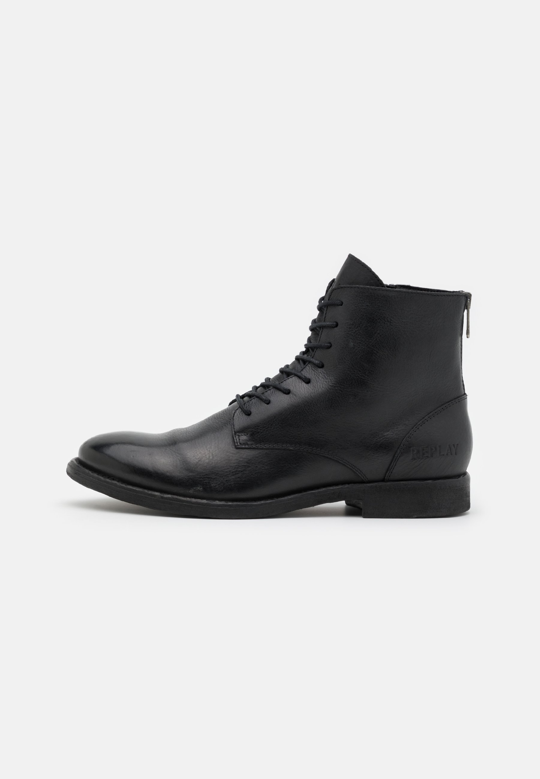 Men BOOSTER - Lace-up ankle boots