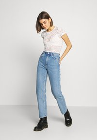 Weekday - VOYAGE LOVED - Straight leg jeans - pen blue - 1