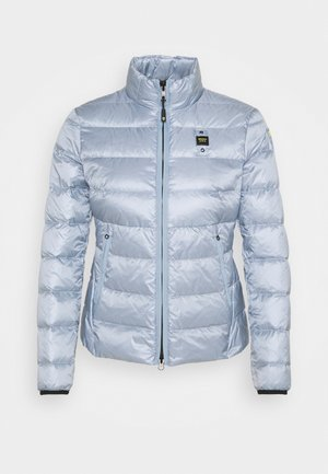 GIUBBINI CORTI IMBOTTITO - Down jacket - light blue