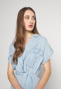 Noisy May - NMVERA ENDI DRESS - Shirt dress - light blue denim - 3