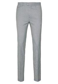 Topman - PUPSTOOTH SKINNY - Trousers - blue - 3