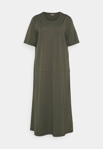 Sukienka z dżerseju - deep leaf green
