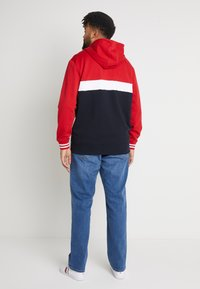Tommy Hilfiger - COLORBLOCKD HOODED ZIP - Sudadera con cremallera - red - 2