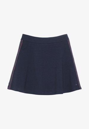 TAPE SKATER SKIRT - Áčková sukně - blue