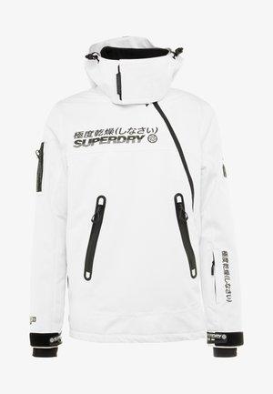 SNOW RESCUE OVERHEAD JACKET - Ski jacket - arctic white