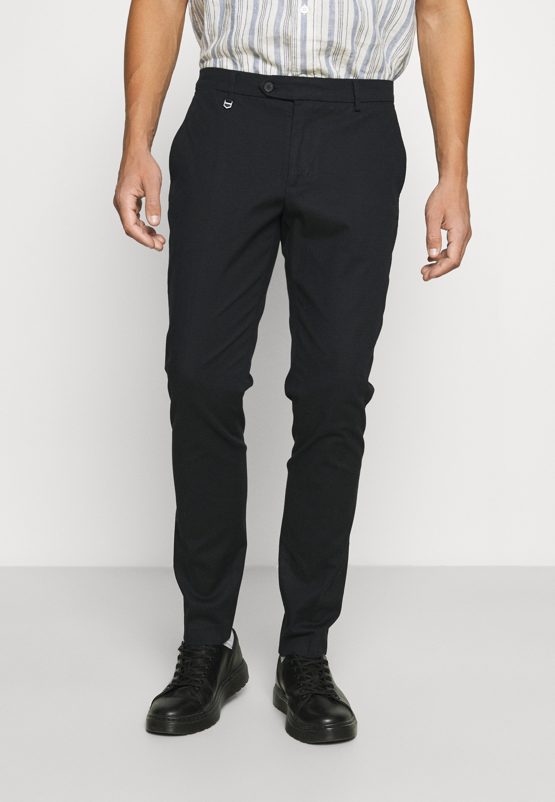 Men TROUSERS BRYAN SKINNY FIT IN STRETCH FABRIC - Trousers