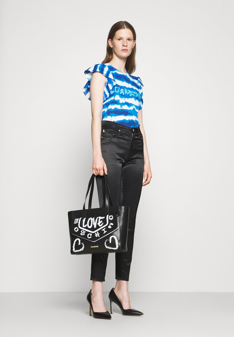 Love Moschino - GRAFFITI - Handbag - fantasy color