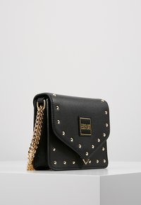 Versace Jeans Couture - STUDS SMALL SHOULDER BAG - Across body bag - nero - 3