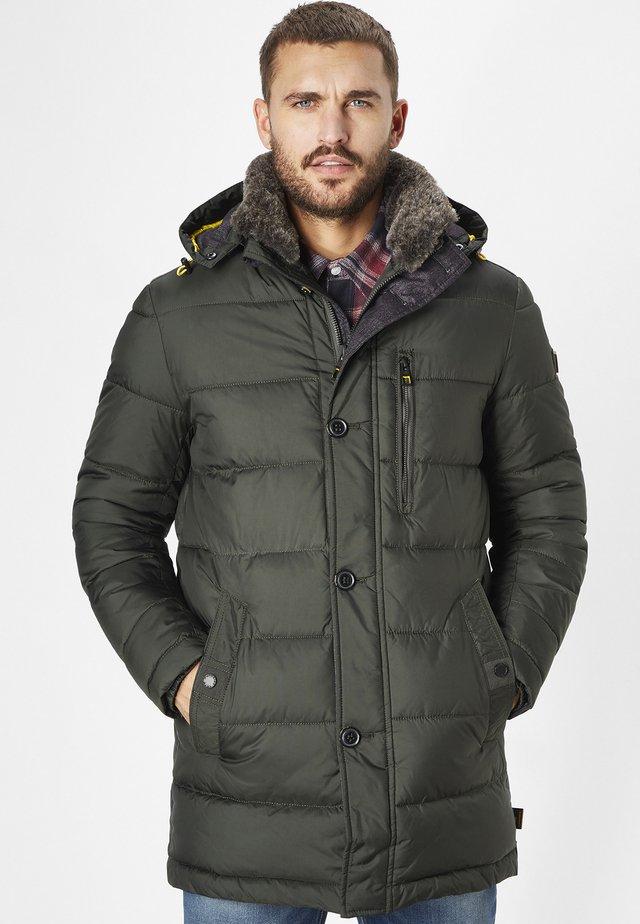 WARMER STEPP RAFF - Winter coat - dk. olive