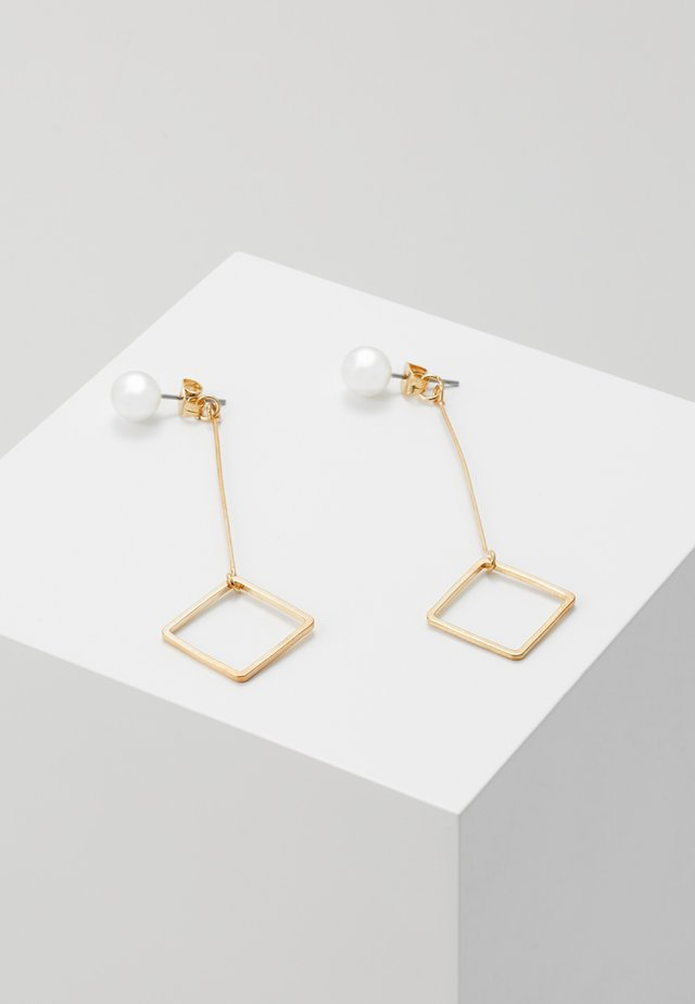 TJORVEN - Earrings - gold-coloured