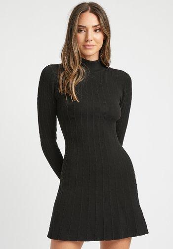 ROBE KIRSTEN - Jumper dress - z noir