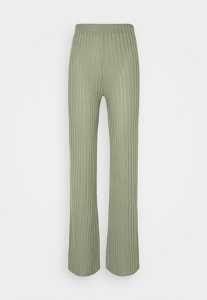ONLVICKIE WIDE LEG PANT - Trousers - sea spray