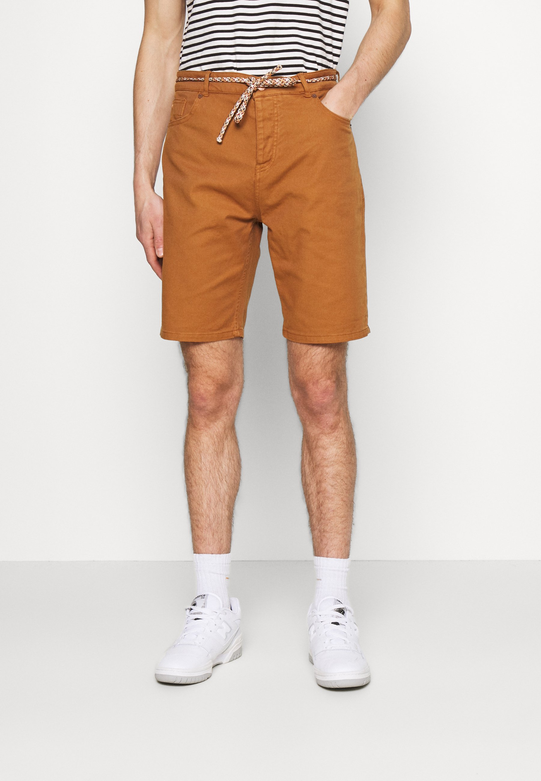 Men SEASONAL GARMENT DYED 5 POCKET - Shorts