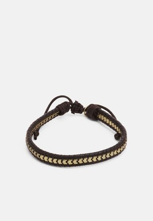 BOX CHAIN BRACELET - Bracelet - brown