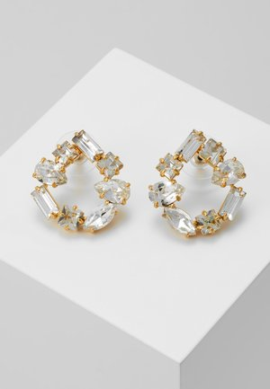 BRISTOL OPEN CIRCLE EARRINGS - Earrings - gold-coloured