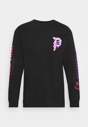 GOKU TEE - Maglietta a manica lunga - black