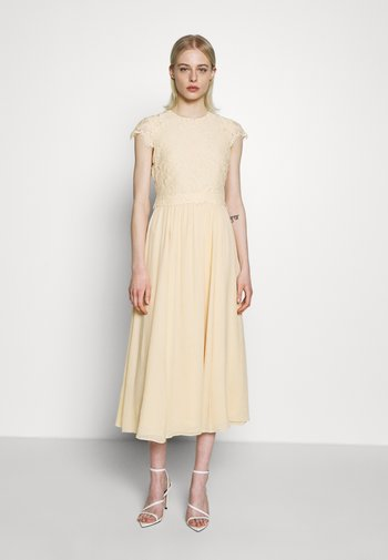 DRESS - Vestido informal - lemon cream