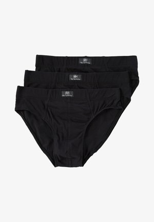 3 PACK - Briefs - black