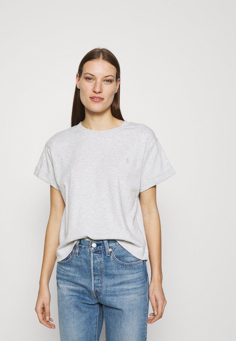 Carin Wester - STORM - Basic T-shirt - grey melange