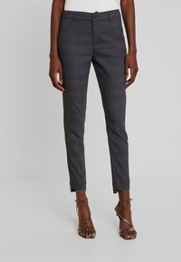 Freequent - Pantalon classique - check as sample - 0