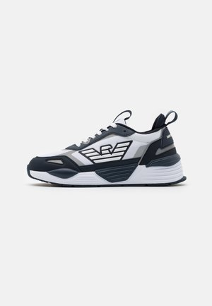 Sneakers laag - navy/white/silver